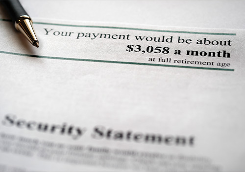 Printed Social Security Statement