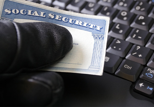 Thief Using Social Security Card Online